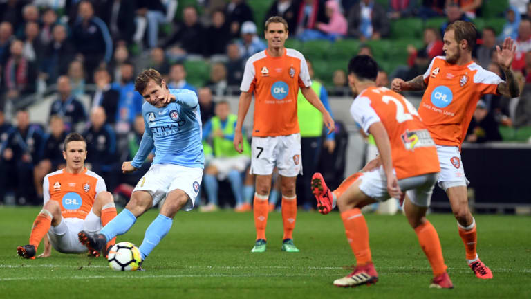 Nick Fitzgerald has departed Melbourne City.