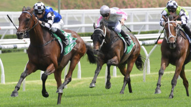 Jason Collett and Our Century race away with victory in the Christmas Cup.