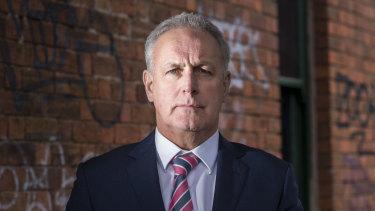 Head of Taskforce Salus, Detective  Superintendent Graham Kent.