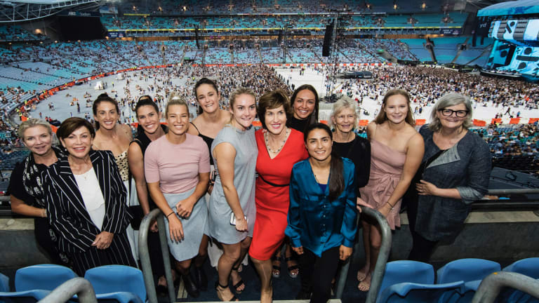 The Minerva Network aims to bring together Australia's most successful businesswomen to support elite female athletes.