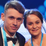 Ashleigh Barty and Alex de Minaur share Newcombe Medal