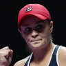 'Beers not champagne': Barty on track to top year-end rankings