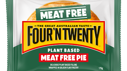 Meet the pie with no meat, just a 'delicious plant-based filling'