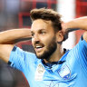 Ninkovic set for A-League return but match in doubt due to smoke