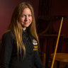 From piano to pool as woman billiards champ takes on men