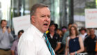 """At the moment we are witnessing an unholy coalition attacking the increase in the superannuation guarantee,'' says Anthony Albanese."
