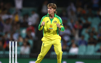 Adam Zampa wants to do the job for his side no matter the stage of the innings.