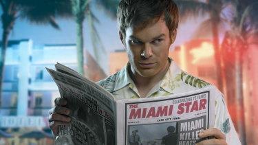 Michael C. Hall in Dexter.