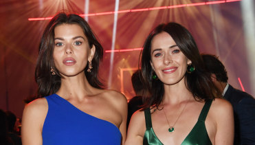 Questions surrounding Georgia and Kate Fowler's relationships were off-limits.