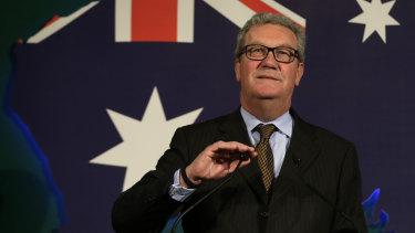 Former Australian foreign minister Alexander Downer.