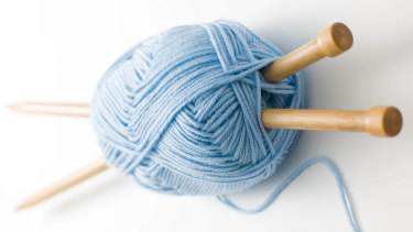 Knitting has seen a resurgence in popularity.