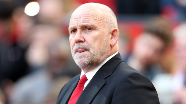 Different gravy: Manchester United's interim assistant coach Mike Phelan is also juggling his job as sporting director of the Central Coast Mariners.