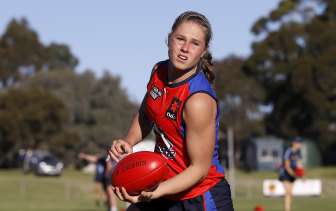Charlie Rowbottom is one of the contenders to be this year's No.1 AFLW draft pick.
