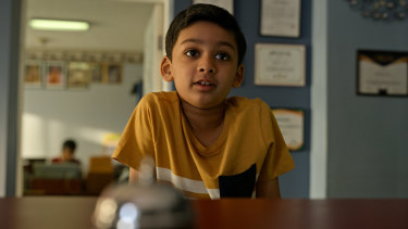 Ishan Gandhi stars in The Manager, an episode of Little America.