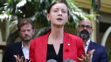 Queensland Attorney-General Yvette D'Ath speaks about the human rights bill.