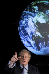 We want you as a climate recruit: British PM Boris Johnson.