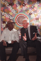 Jagamara had a book about him and his work launched by Gough Whitlam at the NSW Art Gallery in November 1996.