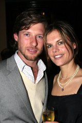 Glamour couple no more. Nick Tobias and the mother of his two children, former model Miranda Darling, have separated.