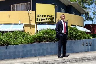 National Storage Australia managing director Andrew Catsoulis.