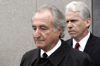Bernard Madoff, who defrauded investors of more than $US19 billion  in history's biggest Ponzi scheme, is serving a 150-year prison sentence.