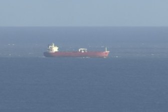 British police have seized control of an oil tanker in the English Channel.