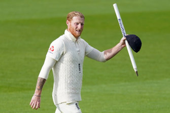 """Mr Incredible"": Ben Stokes was showered with praise after helping England to victory over the West Indies."