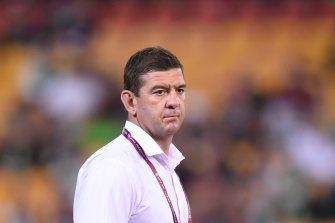 Bennett's successor Jason Demetriou, who will take over at South Sydney in 2022.