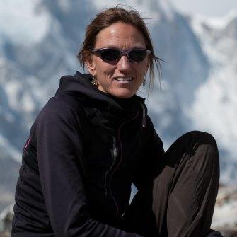 Himalayan climbing chronicler Billi Bierling.