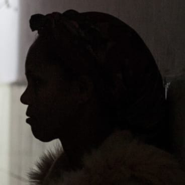 Traumatised: Awet's mother Nebiat.
