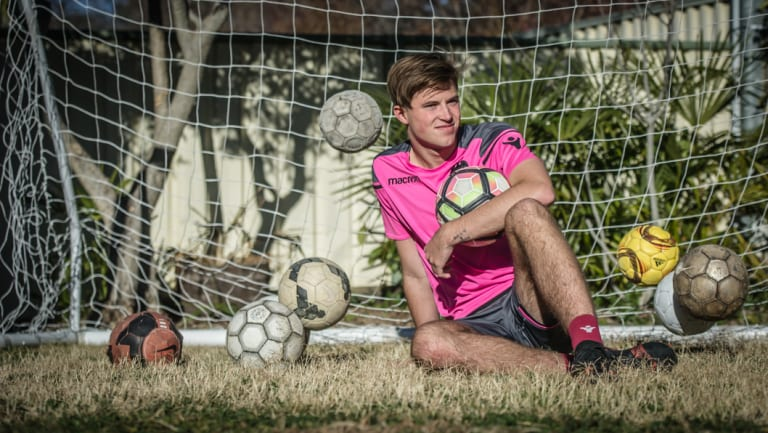 Barasic wants to play for the Socceroos at the 2020 World Cup.