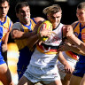 Advantage West Coast: Eagles add to Crows' woes