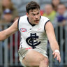 'Excited to have him out there': Mitch McGovern back for Carlton-Richmond game
