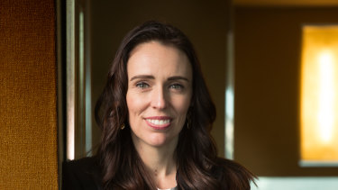 Ardern's Labour governs with support from NZ First and The Greens.