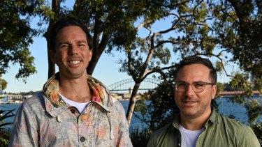 Stake founders (left) Matt Leibowitz and Dan Silver are tapping into demand from younger investors.