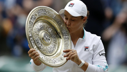 'I hope I made Evonne proud': Barty's name etched in history after thrilling Wimbledon win
