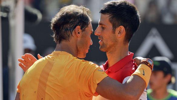 Nadal and Zverev set up Italian Open final