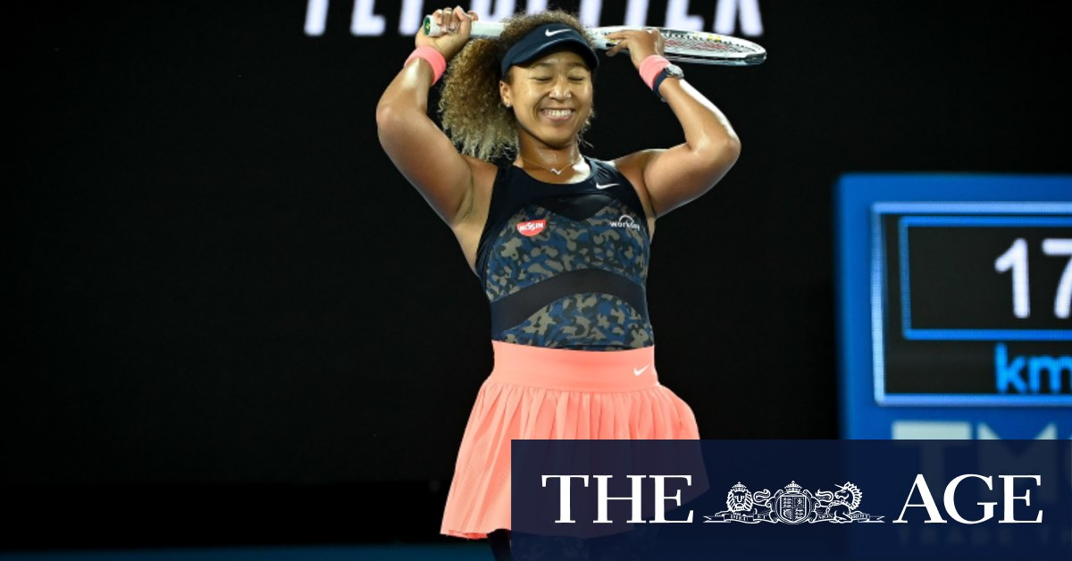 Naomi Osaka wins, and an era begins