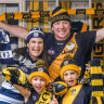 It's Richmond v Geelong in Brisbane, but fans try to make the best of it