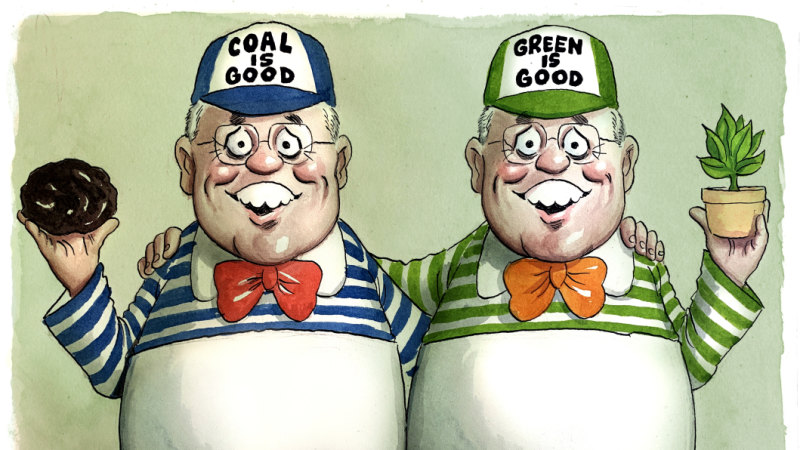 Inconvenient truths for our coal cuddling pm