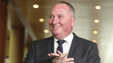 Nationals leader Barnaby Joyce says he is seeking the best deal for regional Australians, blue-collar jobs and export industries.
