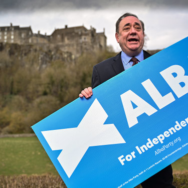 Former first minister Alex Salmond has started his own party but will attract little support.
