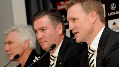 What does Eddie's departure mean for Nathan Buckley?