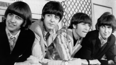 The Beatles, from left, Ringo Starr; Paul McCartney; John Lennon; and George Harrison in 1966.