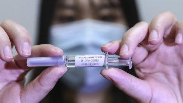 The Sinopharm vaccine.