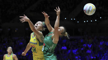 The Diamonds outclassed Northern Ireland 88-24.