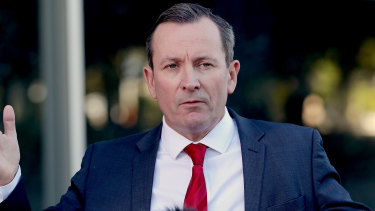 Mark McGowan has refused to budge on his border policy.
