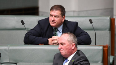 Nationals Llew O'Brien and Barnaby Joyce are playing brutal politics as they challenge Deputy Prime Minister Michael McCormack.