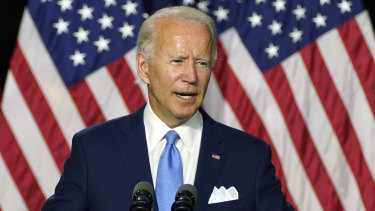 Wall Street wallets have been opening for Joe Biden.