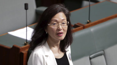 Liberal MP Gladys Liu audited her membership of organisations linked to the Chinese Communist Party earlier in the year.