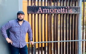 Gabriele Moretti, who runs Amoretti's, said he would not discriminate against any customers who come through his door.